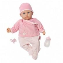 Интерактивная кукла MY FIRST BABY ANNABELL - НАСТОЯЩАЯ МАЛЫШКА (36 см, с аксессуарами, озвучена) от Zapf - под заказ