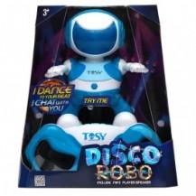 Набор с интерактивным роботом DISCOROBO – ЛУКАС ДИДЖЕЙ (робот, MP3-плеер с колонками,  танцует, озв. от TOSY - под заказ