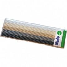 Набор стержней из PLA-пластика  для проф. исп. с 3Doodler Create - ХАКИ (25 шт, метал/глянец) от 3Doodler - под заказ