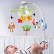 Музыкальный мобиль - СКАЗОЧНОЕ ПРИКЛЮЧЕНИЕ (MP3-плеер, 16 мелодий, свет) от Taf Toys - под заказ