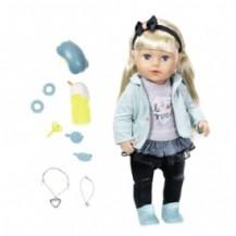 Кукла BABY BORN - СЕСТРЁНКА-МОДНИЦА (43 см, с аксессуарами) от Zapf - под заказ