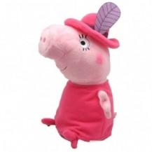 Мягкая игрушка - МАМА СВИНКА В ШЛЯПЕ (30 см) от Peppa - под заказ