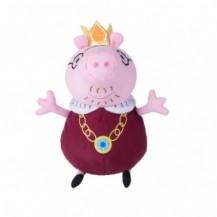 Мягкая игрушка - ПАПА СВИН КОРОЛЬ (30 см) от Peppa - под заказ