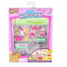 Набор фигурок HAPPY PLACES S1 – ЗВАНЫЙ УЖИН (15 петкинсов, 2 платформы) от Happy Places - под заказ