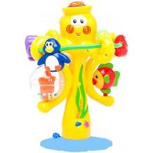Игрушка на присоске - МУЗЫКАЛЬНЫЙ ОСЬМИНОГ (свет, звук) от Kiddieland - под заказ