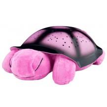 Проектор звездного неба, ночник Музыкальная Черепаха (розовая) . Бесплатная доставка по Украине.