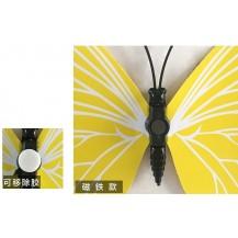 Интерьерная наклейка на стену бабочки 3д 3D Кремовые (набор 3DLT)