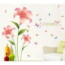 Интерьерная наклейка на стену Цветы XL8135
