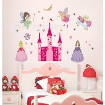 Интерьерная наклейка в детскую Волшебный замок