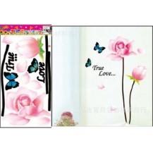Интерьерная наклейка Нежные цветы-2