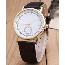 Часы Женева Geneva Питон черный ремешок