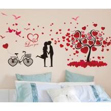 Интерьерная наклейка на стену Любовь (XL8151)
