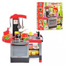 Кухня детская (плита, духовка, мойка, музыка, свет)