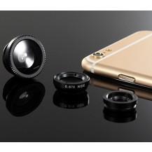 Набор объективов для смартфона Черный