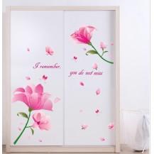 Интерьерная наклейка на стену Цветы AY7246