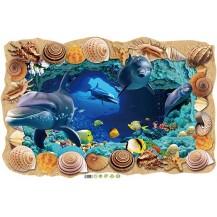 Интерьерная наклейка Море XL8126
