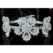 Браслет Bridal Flower Crystal Bangle Bracelet B066