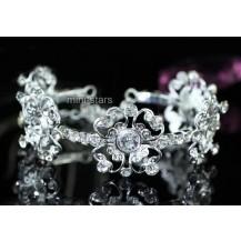 Браслет Bridal Flower Crystal Bangle Bracelet SSB067