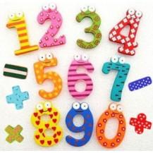 Набор магнитов на холодильник ``Цифры``