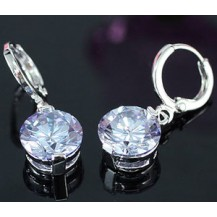 Серьги 3.5 Carat Dangle Light Blue Sapphire Earrings SE298