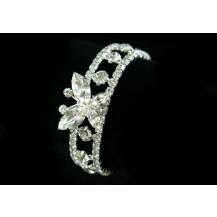 Браслет Bridal Fashion Butterfly Clear Rhinestone Bracelet SSB012