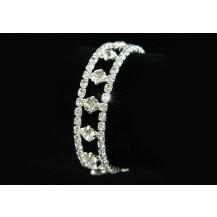 Браслет Bridal Fashion Stylish Clear Rhinestone Bracelet SSB013