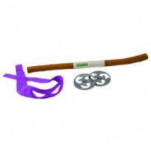 Набор игрушечного оружия серии ЧЕРЕПАШКИ-НИНДЗЯ - боевое снаряжение Донателло (шест бо, 2 сюрикена)