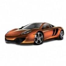 Автомодель - MCLAREN MP4-12C (ассорти оранжевый металлик, желтый металлик, 1:24)
