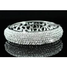 Браслет Wedding Pageant Bangle Bracelet use Swarovski Crystal SSB042