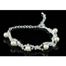 Браслет Bridal Wedding Cream Pearl Bracelet SSB045