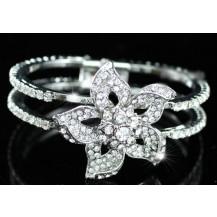 Браслет Bridal Flower Crystal Cuff Bangle Bracelet SSB047