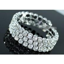 Браслет Bridal Crystal Stretchable Bling Bangle Bracelet SSB053