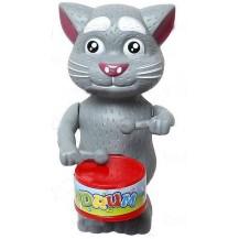 Кот Том заводной с барабаном