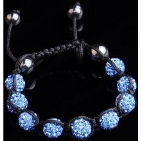 Браслет Шамбала Crystal Blue