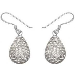 Серьги TN899 Серебро 925 Swarovski Crystals