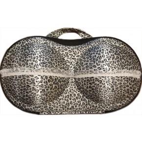 Органайзер - сумочка для бюстгальтеров (с сеточкой), бантики