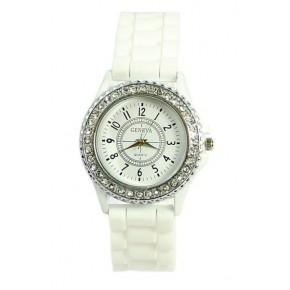 Часы женские GENEVA Luxury Женева Белые