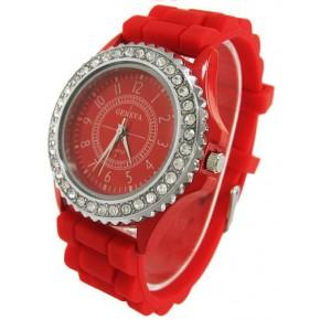 Часы женские GENEVA Luxury Женева Красные