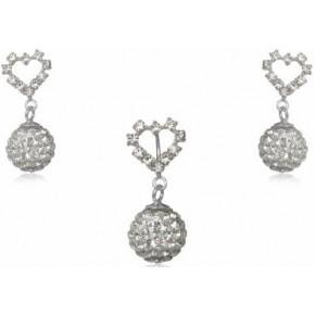 Набор TN307.Серебро 925 с кристаллами Swarovski