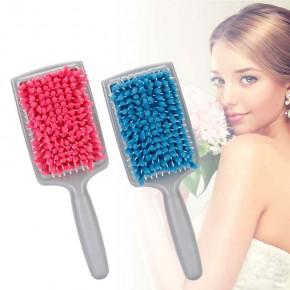 Расческа Щетка для сушки волос с микрофиброй