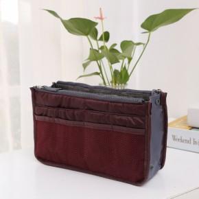 Органайзер для сумочки, бордовый