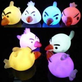 Мини светильник хамелеон Angry Birds, минисветильник