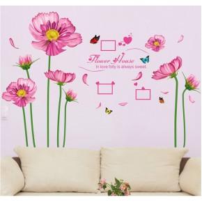 Интерьерная наклейка на стену Цветы XL7128