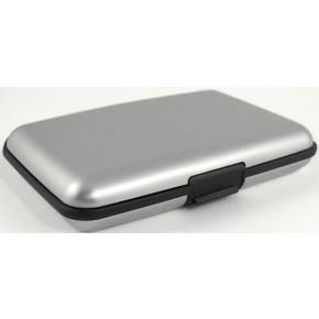 кошелек Aluma Wallet, серебристый