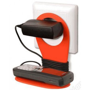 Держатель-подставка для мобильного телефона во время зарядки