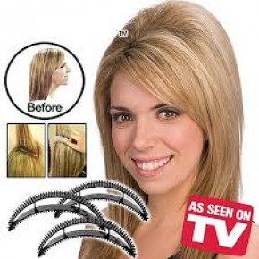 Заколки для придания объема волос Bumpits Бампит (черный)