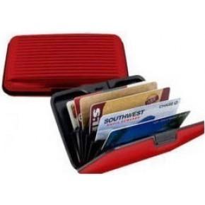 Кошелек Aluma Wallet красный